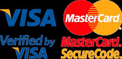 Visa and Master Card Logo